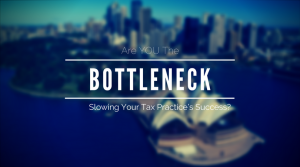 tax marketing, bottleneck, tasks, process